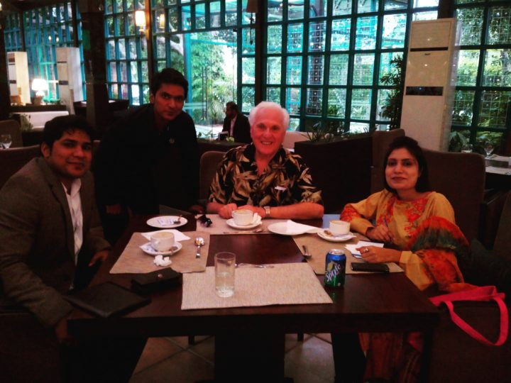 Meeting with Canadian Int.Speaker